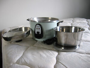 0b0 Rice steamer w/ stainless steal pot 多功能電鍋