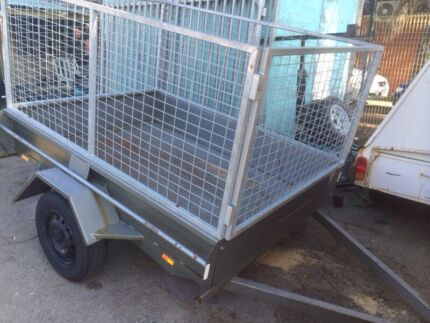 **QUICK SALE** 7 x 5 Cage Trailer with Rego  Beckenham Gosnells Area Preview