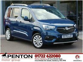 image for 2020 Vauxhall COMBO LIFE 1.5 Turbo D Elite Auto (s/s) 5dr MPV Diesel Automatic