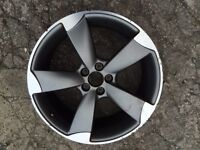 Audi a1 s line genuine 18 inch rotor alloy wheel for sale