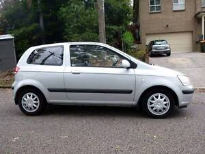 2005 Hyundai Getz Hatchback Lemon Tree Passage Port Stephens Area Preview