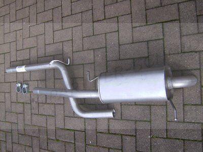 Mittelschalldämpfer Auspuff Audi  VW Skoda Seat 1,6 1,8 2,0 Abgasanlage Mitte