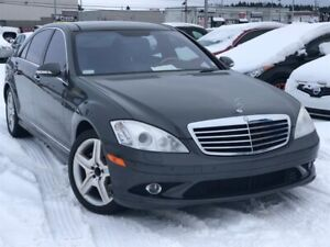 2007 Mercedes-Benz S 550 4MATIC V8, FINANCEMENT MAISON