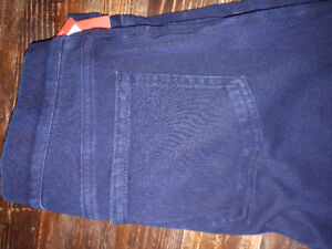 Spanx blue denim leggings - size L