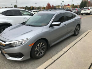 2017 HONDA CIVIC EX - LEASE TAKE OVER