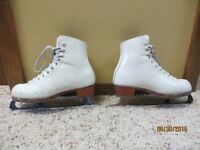 Ladies Custom Figure Skates Size 6 1/2 to 7