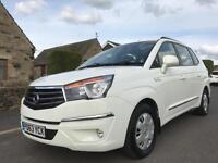 2013 63 SSANGYONG TURISMO 2.0 TD S 5DR WHITE