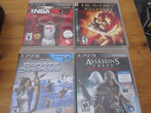 4 PS3 Games $10 for all!