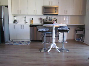 Belle Petite Table Haute de Cuisine\Small high kitchen table