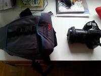 Minolta Maxxum 400SI 35 mm SLR Camera  body with Sigma Lens