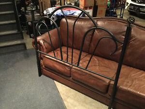 Curved metal headboard - for Double Bed - Reduced