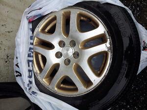 mags et pneu 16 pouces