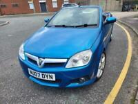 2007 Vauxhall Tigra 1.4 i 16v Exclusiv 2dr (a/c) Convertible Petrol Manual