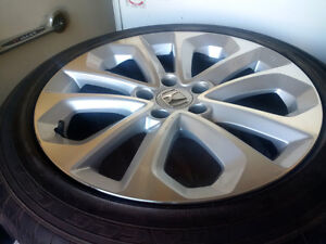 "Set of OEM Honda Accord 18"" Rims with Eagle LS2 tires"
