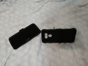 Slim case with swival holster for an LG G6 phone.