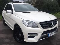 Mercedes-Benz M Class 2.1 ML250 CDI BlueTEC AMG Sport 7G-Tronic Plus ... 2013/13