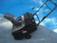"""Murray 5hp 21"""" Gas Snowblower The Black Beast Made in USA"""