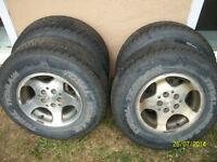 5 mags JEEP + pneus.