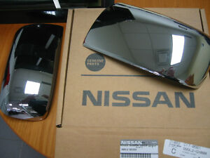 2011-2013 NISSAN ROGUE CHROME MIRROR COVERS NEW