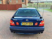 X REG LEXUS GS300 SPORT AUTO BLUE GOLD BADGE NOT GS430 LS430 LS400