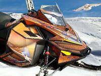 Premium Snowmobile Wraps & Sled Graphics