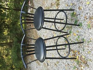 Antique Dining Room table set , Rocking chair , Bar stools London Ontario image 1