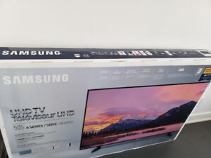 "SAMSUNG 55"" UHD TV NU 6950 NEW NEUF!"