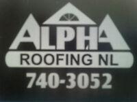 Alpha Roofing NL- free estimates!