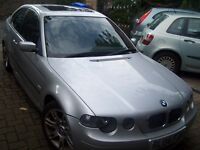 2004 BMW 316 Compact Sport hatchback (now 1 series)- test March 2017- BMW for only £850