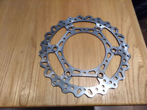 YZ250f,fx front brake rotor 14_18 260 mm