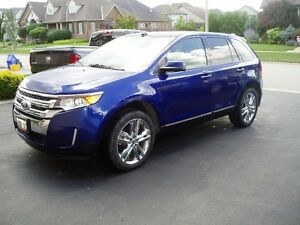 2013 FORD EDGE SEL LEATHER NAVIGATION SUNROOF ONE OWNER LEASE!!