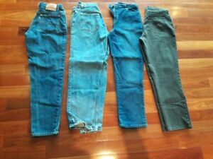 FOUR pairs of designer jeans!  Like NEW!  Size 12!