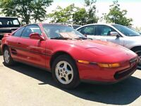 1991 Toyota MR2 Turbo T-Top no rust! stock! Certified and etest!