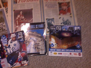 1993 TORONTO MAPLE LEAFS FANS NEWSPAPER SCRAPBOOK COLLECTION WOW Cambridge Kitchener Area image 5