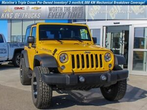 2015 Jeep Wrangler Rubicon   Low KMS   Local Owner  - $253.62 B/