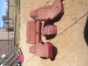 Ramcharger seats & console