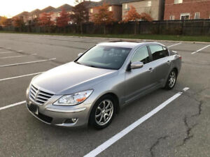 2009 hyundai genesis V6 hyundai maintained & certified