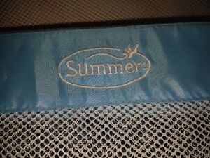 Summer Infant Double Safety Bedrail - blue color