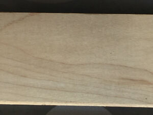 Wood Flooring - Nothern Canadian Maple-1 inch Thick X 2 1/4 Wide