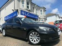 2007 07 BMW 5 SERIES 3.0 530D AC 4D 232 BHP ** FANTASTIC SPECIFICATION - ONLY 72