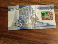 SCOTTISH PLASTIC £5 NOTES !! Make me a offer