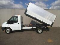 2012 FORD TRANSIT 2.4 TDI 115 MWB 10 FT 6 ALLOY TIPPER**EX COUNCIL GARDEN MAINTE