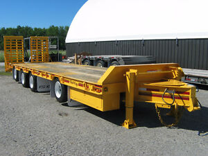 2005 Float King 40 ton tag-a-long quad Kitchener / Waterloo Kitchener Area image 9