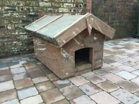 Old Rustic Farmhouse Dog Kennel With Heater - Can Deliver