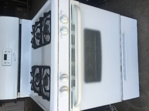 One year old gas range for sale
