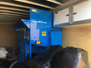 Ark Seal Insulation Blower in new Enclosed Trailer