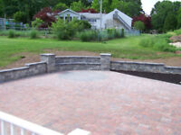 Interlock Patios , Garden Wall, Fencing