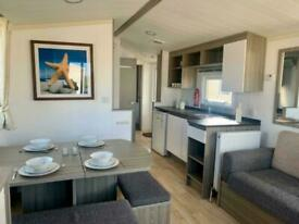 FREE 2021 SITE FEES, CENTRAL HEATED STATIC CARAVAN FOR SALE NORTH WALES