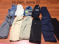 Pants 18-24m, some 2T