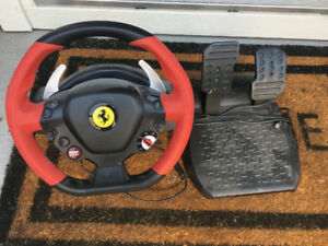 Ferrari 458 Spider Thrustmaster steering wheel for Xbox